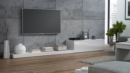 Picture of Cama TV stand LIFE 300/42/35 white/white gloss