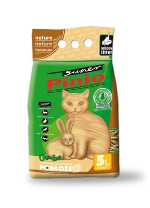 Изображение Certech Cat Litter Super Pinio Natural 5 l - Wooden Cat Litter