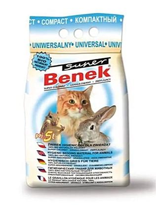 Изображение Certech Super Benek Universal Compact - Cat Litter Clumping 5 l