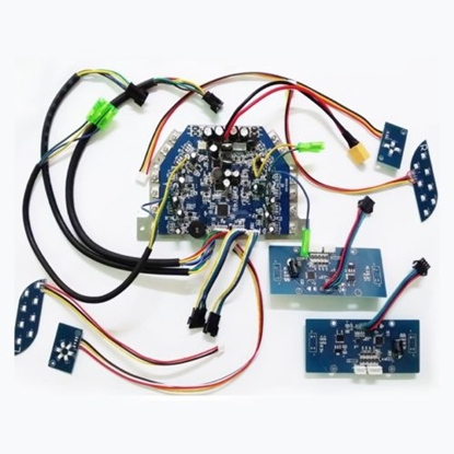 Attēls no EBoard M05 PCB KIT (2pcs gyro PCB/Bluetooth PCB/speaker/remote/light PCB's) Blue