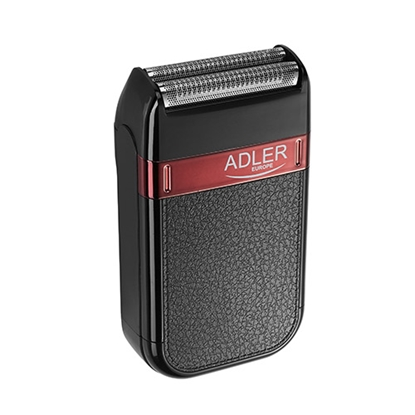 Attēls no Adler Shaver AD 2923 Cordless, Charging time 1 h, Operating time 45 min, Wet use, NiMH, Number of shaver heads/blades 1, Black