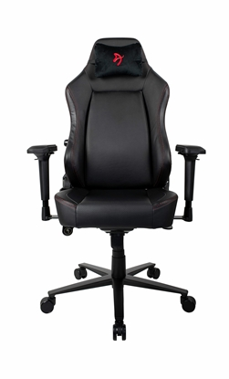 Picture of Arozzi Gaming Chair Primo Pu Black/Red logo
