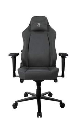 Picture of Arozzi Gaming Chair Primo Woven Fabric Black/Grey/Grey logo