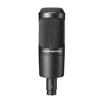 Изображение Audio Technica Cardioid Condenser Microphone AT2035 0.403 kg, Black
