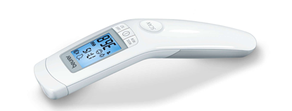 Attēls no Beurer FT 90 Beurer Non-contact thermometer FT 90 Memory function, Accuracy 36°C to 39 °C, Measurement time 2 s, White