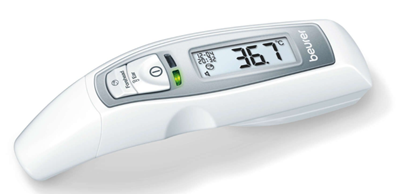 Attēls no Beurer Multifunction thermometer 7-in-1 FT 70 Memory function, White