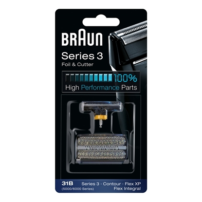 Picture of Braun 31B Foil and Cutter replacement pack Black