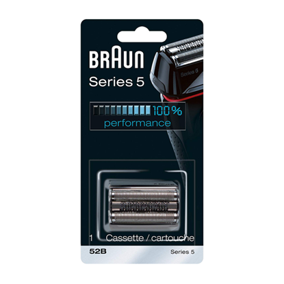 Attēls no Braun 52B Head Replacement Pack Black