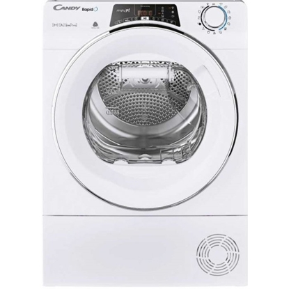 Изображение Candy Dryer Machine RO4 H7A2TCEX-S Energy efficiency class A++, Front loading, 7 kg, Heat pump, Big Digit, Depth 46.5 cm, Wi-Fi, White