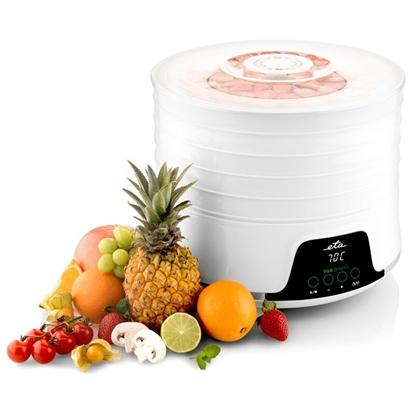 Изображение ETA Food Dehydrator Brisa ETA130290000 Power 500 W, Number of trays 5, Temperature control, Integrated timer, White