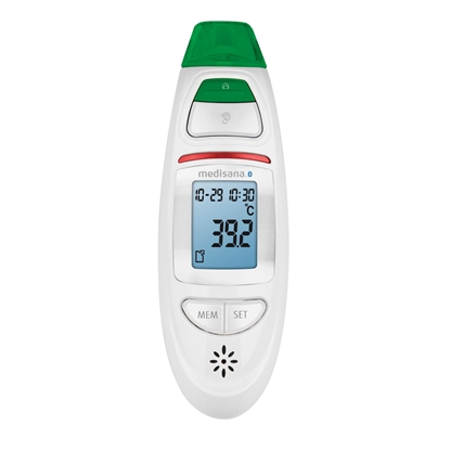Attēls no Medisana Connect Infrared Multifunction Thermometer TM 750 Memory function, White