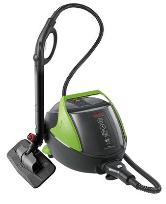 Picture of Polti Vaporetto Pro 95 Turbo Flexi Steam Cleaner PTEU0280 1100 W, Black/Green