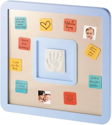 Attēls no (V) Baby Art messages print frame, ziņojumu rāmis ar pēdiņas vai rociņas nospieduma izveidošanai