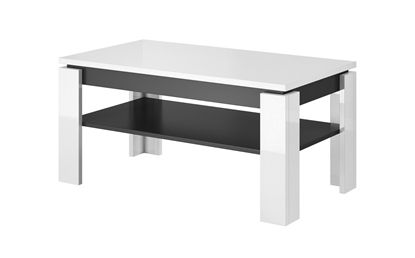 Attēls no Cama coffee table TORO 100 white/graphite