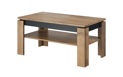Attēls no Cama coffee table TORO 100 wotan oak/antracite