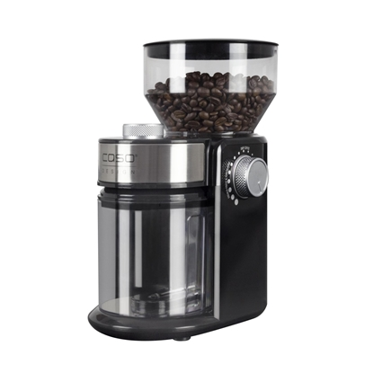 Picture of Caso Coffee grinder Barista Crema Black, 150 W, 240 g, Number of cups 12 pc(s)