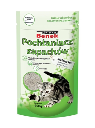 Изображение CERTECH Odour Absorber Super Benek Green Forest 450 g