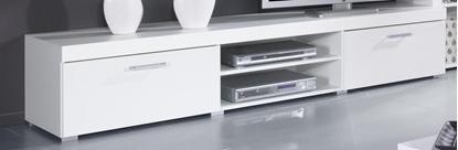 Изображение Cama TV stand 200 SAMBA white/white gloss