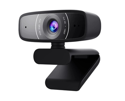 Picture of ASUS C3 webcam 1920 x 1080 pixels USB 2.0 Black