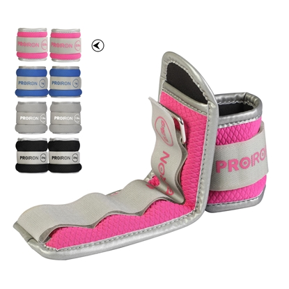 Изображение ProIron Ankle Weight Set Weight Bands, 25.5 x 9 cm, 2 x 0.5 kg, Pink