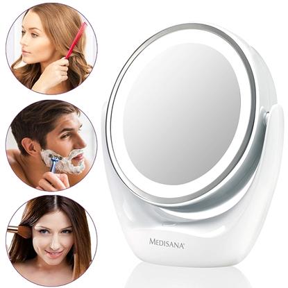 Изображение Medisana High-quality chrome finish,  CM 835  2-in-1 Cosmetics Mirror, 12 cm