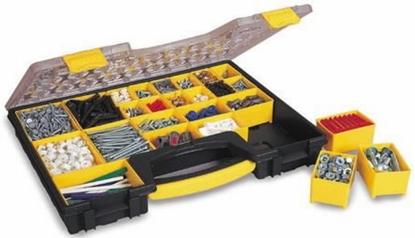 Attēls no Detaļu kaste ar 25 izņemamiem nodalījumiem, Stanley