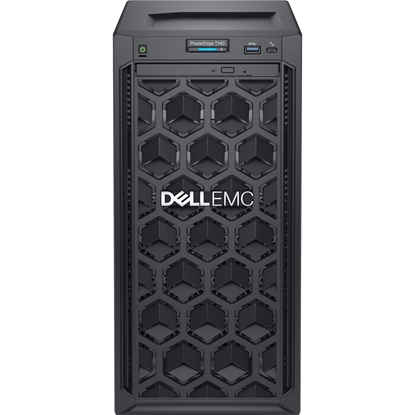"Attēls no Dell PowerEdge T40 Tower, Intel Xeon, E-2224G, 3.5 GHz, 8 MB, 4T, 4C, UDIMM DDR4, 2666 MHz, 1000 GB, Up to 3 x 3.5"", No OS, Warranty Basic Onsite 36 month(s)"