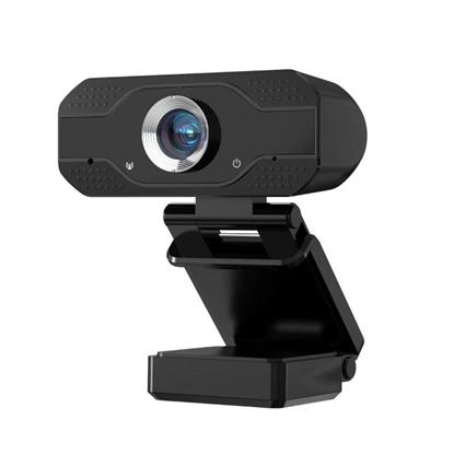 Изображение TakeMe B1 Full HD Web Kamera ar Aizsargvāciņu / Mikrofonu un Universālu Klipša stiprinājumu (1920x1080px) USB 2.0 Melna