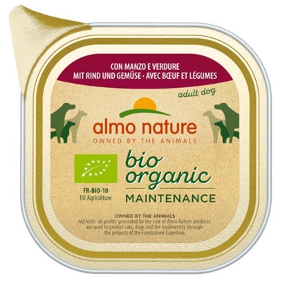 Picture of ALMO NATURE Daily Menu Bio Organic Beef with vegetables 100 g