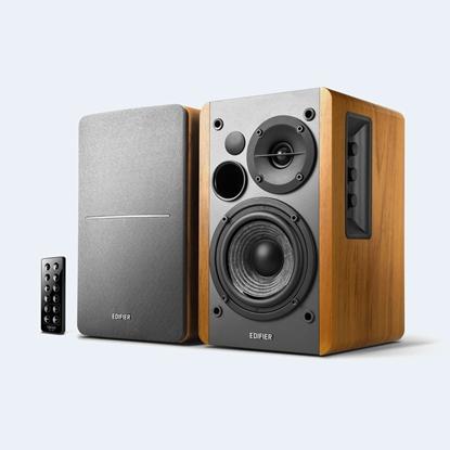 Изображение Edifier Powered Bluetooth Speakers R1280DBS Brown, Bluetooth, Wireless connection