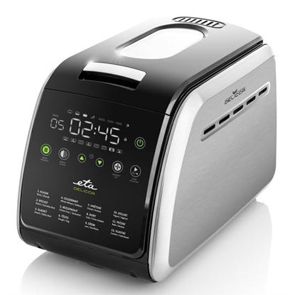 Picture of ETA Bread maker Delicca II ETA714990030 Power 850 W, Number of programs 12, Display Yes, Black/Stainless steel