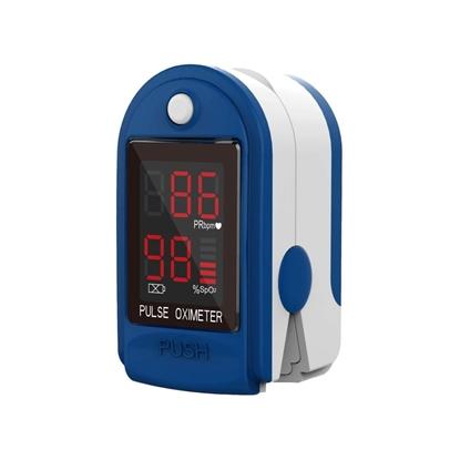 Изображение Ir veikalā - Oxi.Mono Pulsa oksimetrs (Oximeter) - pulsometrs ar LED indikāciju SPo2 un pulsa noteikšanai.