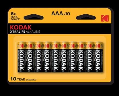 Изображение Kodak LR03 AAA Alkaline Batteries XTRALIFE x 10 pcs
