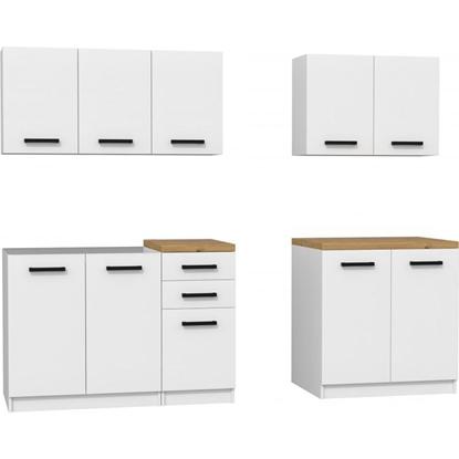 Изображение Topeshop KUCHNIA SET 200 BIEL kitchen/dining room furniture set