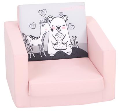 Изображение Delta Trade DT5  mīksts izvelkams vienvietīgs sēžamkrēsls bērniem