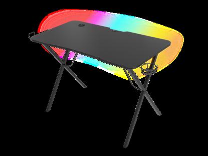 Изображение Genesis Holm 200 RGB Gaming Desk, Black