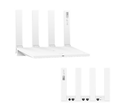 Изображение Wireless Router|HUAWEI|Wireless Router|3000 Mbps|IEEE 802.11a|IEEE 802.11n|IEEE 802.11ac|IEEE 802.11ax|4x10/100/1000M|Number of antennas 4|53037715
