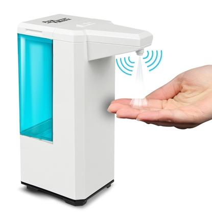 Изображение Automatyczny dozownik pojemnik dyspenser do płynów dezynfekujących 500ml na 4 baterie AA PR-470