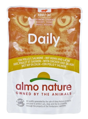 Изображение Almo Nature Daily Chicken with salmon 70 g