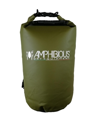 Attēls no AMPHIBIOUS WATERPROOF BAG TUBE 20L GREEN P/N: TS-1020.15