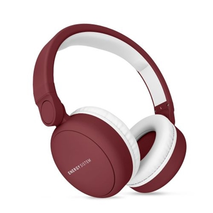 Attēls no ENERGY SISTEM HEADPHONES 2 BLUETOOTH WITH MICROPHONE. GUARANTEE 3 YEARS! (Ruby Red)