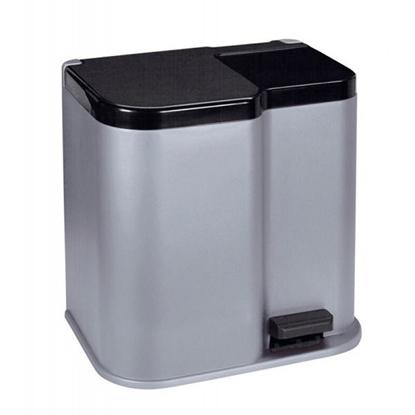 Attēls no Atkritumu tvertne ar pedāli Duo 15+7l