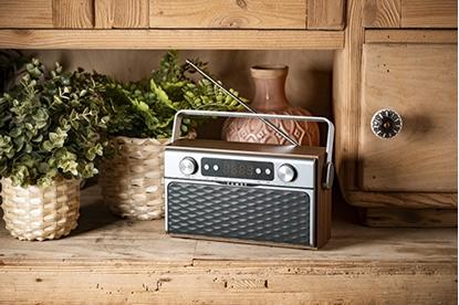 Изображение Camry Bluetooth Radio CR 1183 16 W, AUX in, Wooden