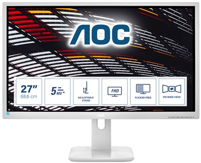 "Изображение AOC Pro-line 27P1/GR LED display 68.6 cm (27"") 1920 x 1080 pixels Full HD Grey"