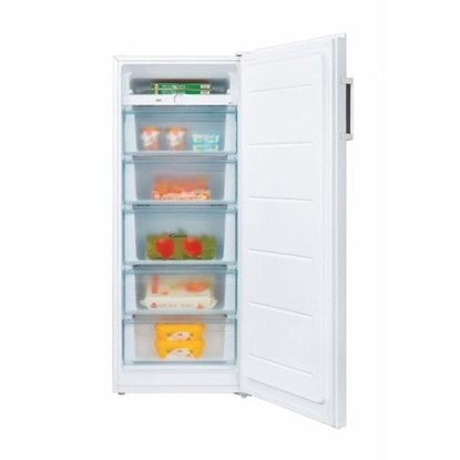 Attēls no Candy Freezer CMIOUS 5142WH/N Energy efficiency class F, Upright, Free standing, Height 142 cm, Total net capacity 160 L, White