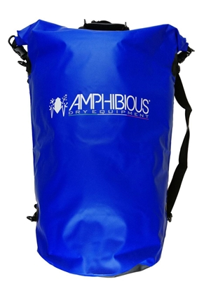 Attēls no AMPHIBIOUS WATERPROOF BAG TUBE 40L BLUE P/N: TS-1040.02