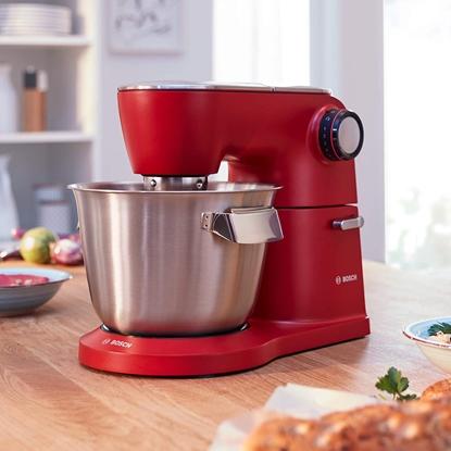 Picture of Bosch Kitchen Machine OptiMUM MUM9A66R00 Red, 1600 W, Number of speeds 7, 5.5 L
