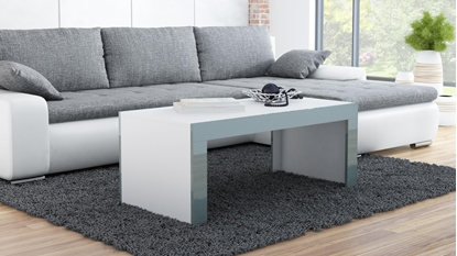 Attēls no Cama TESS120 BI/SZ coffee/side/end table Coffee table Rectangular shape 2 leg(s)