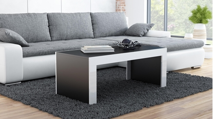 Attēls no Cama TESS120 CZ/BI coffee/side/end table Coffee table Rectangular shape 2 leg(s)