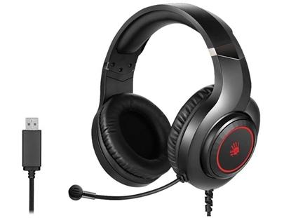 Attēls no Headphones A4Tech BLOODY G220S USB black A4TSLU46784